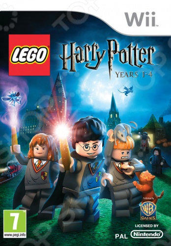 купить Игра для Nintendo Wii LEGO Harry Potter: Years 1-4 онлайн